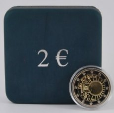 Belgie 2 euro in box 2013