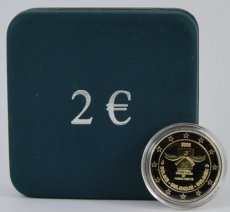 Belgie 2 euro in box 2008