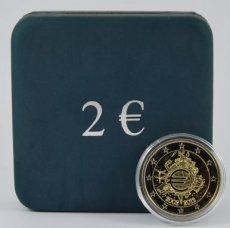 Belgie 2 euro in box 2012