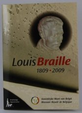 Belgie 2 euro Louis Braille 2009