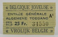 Expo 58 Toegang Ticket